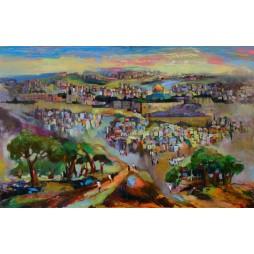Jerusalem Colorful