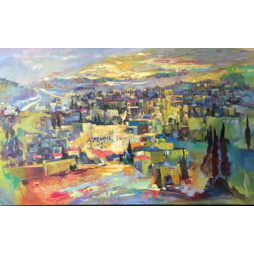 Jerusalem Multi colored
