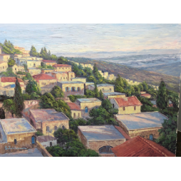 Safed overlooking the Galilee