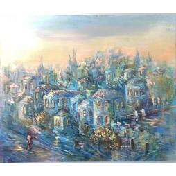 Jerusalem Blue and Purples