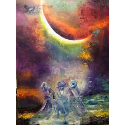 Blessing the moon